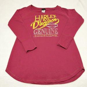 harley Davidson Long Sleeve Shirt Size Large